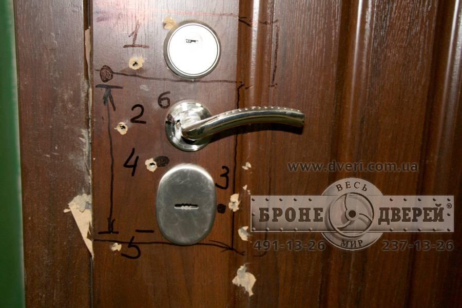 пуленепробиваемые металлические квартирные двери
