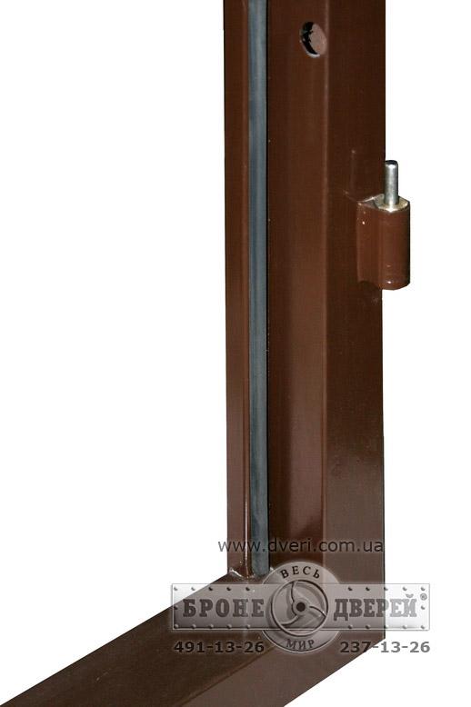 металлическую дверь недорого в общий коридор тамбур с окошком