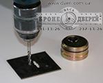 Сверление  марганцевых пластин и броненакладок SECUREMME, Mul-t-lock -ESETY, КALE 257 L