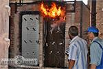 Противопожарные испытания двери по ДСТУ БВ.2.6-11-97 ДБН В 1.1-6-2001 «Захист від пожежі. Двері і ворота».